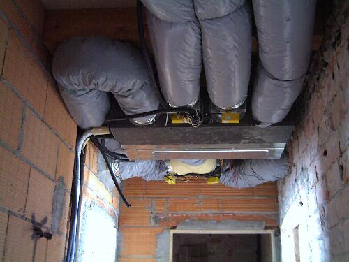 Galleria lavori - Impianto condizionamento canalizzato ...