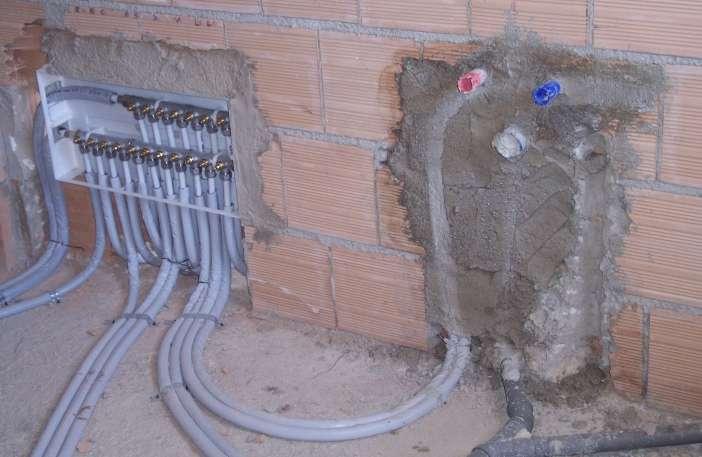 Galleria lavori - Riscaldamento per bagno ...