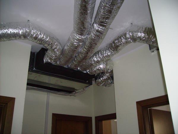Galleria lavori for Climatizzatore canalizzato