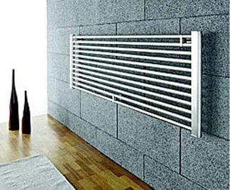 Caldaia a condensazione radiatori alluminio infissi del bagno in bagno - Radiatori bagno orizzontali ...