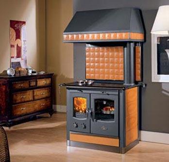Stufe a pellett e caminetti a legna - Stufe a legna per cucinare e riscaldare ...